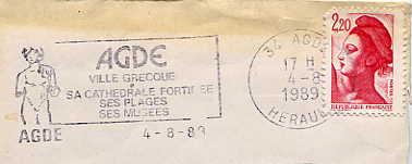 Scan de la flamme de Agde