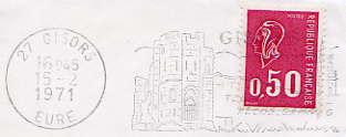 Scan de la flamme de Gisors