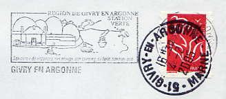 Scan de la flamme de Givry en Argonne