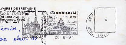 Scan de la flamme de Gouesnou