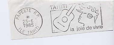 Scan de la flamme de Papeete