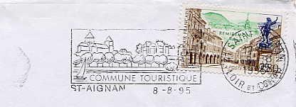 Scan de la flamme de Aignan ( Saint )