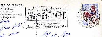 Scan de la flamme de Gervais les Bains ( Saint )