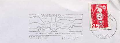 Scan de la flamme de Voiron