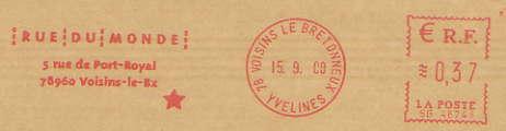 Scan de la flamme de Voisins le Bretonneux