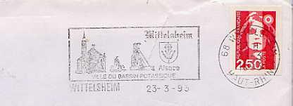 Scan de la flamme de Wittelsheim
